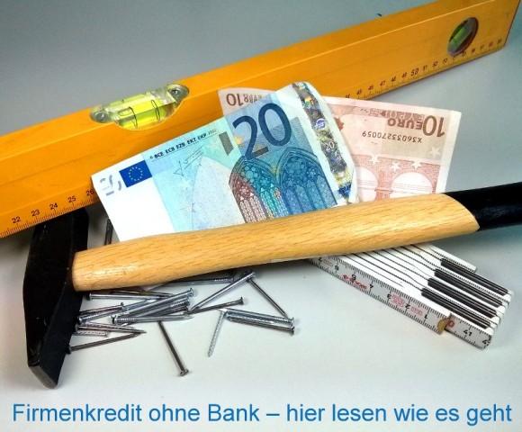 Firmenkredit ohne Bank von privat
